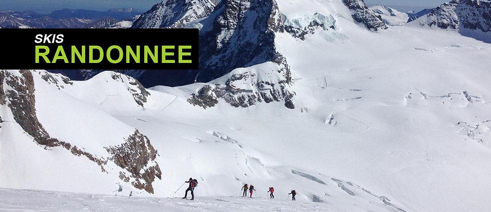 ski rando, ski randonnée