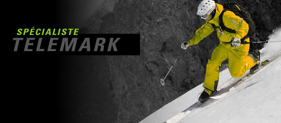 ski telemark, chaussures telemark