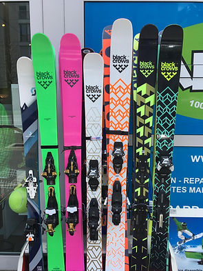 ski randonnée, freeride, allmountain, piste