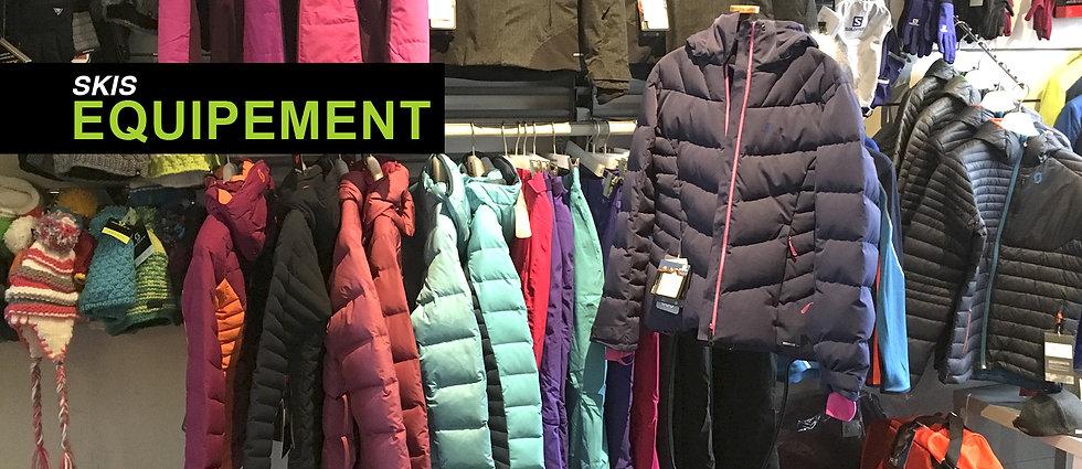 habits montagne, accessoires, vêtement hiver