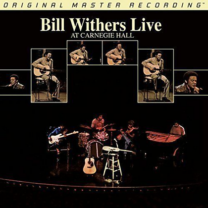 BILL WITHERS : BILL WITHERS LIVE AT CARNEGIE HALL (MFSL AUDIOPHILE VINYL)