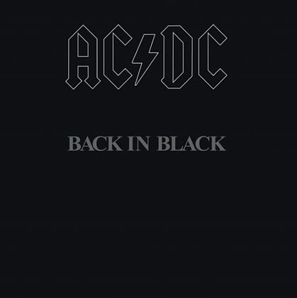 AC/DC : BACK IN BLACK (LP 180G / VINYL)