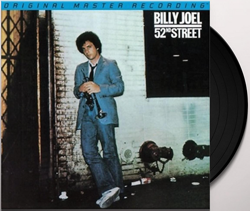 BILLY JOEL : 52nd STREET (NUMBERED LIMITED EDITION/45rpm/180G 2LP)