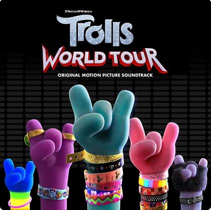 VARIOUS ARTIST : TROLLS - WORLD TOUR OST (2LP/OPAQUE SILVER VINYL/DL INSERT)