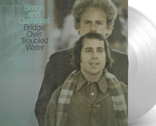 SIMON AND GARFUNKEL : BRIDGE OVER TROUBLED WATER (CLEAR CLASSIC VINYL)