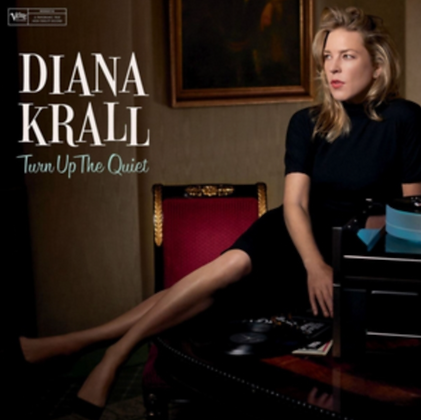 DIANA KRALL : TURN UP THE QUIET (LP VINYL)