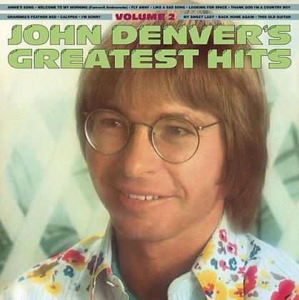 JOHN DENVER: GREATEST HITS VOLUME TWO (180G/TRANSLUCENT GOLD & BLUE SWIRL VINYL)