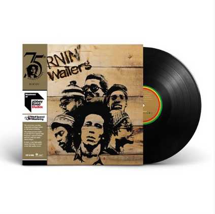 BOB MARLEY & THE WAILERS : BURNIN (HALF-SPEED LP)
