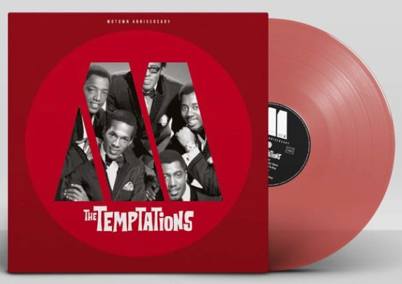 THE TEMPTATIONS : MOTOWN ANNIVERSARY (RED VINYL/LIMITED EDITION)