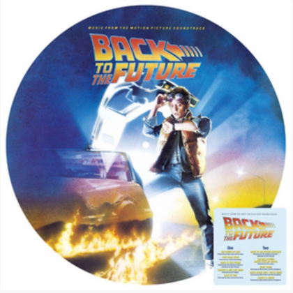 VARIOUS ARTIST : BACK TO THE FUTURE SOUNDTRACK (180G VINYL LP / PICTURE DISC)