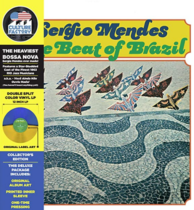 SERGIO MENDES : BEAT OF BRAZIL (LIMITED EDITION COLORED VINYL)