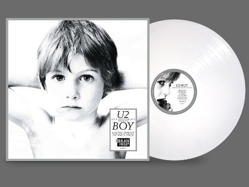 U2 : BOY - (40TH ANNIVERSARY / WHITE VINYL) (RSD BLACK FRIDAY)