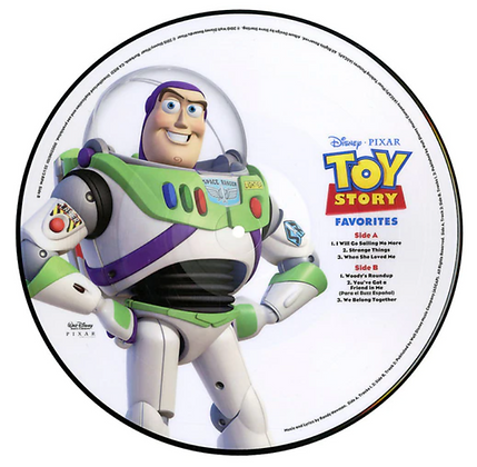 VARIOUS ARTIST : TOY STORY FAVORITES (LP PICTURE DISC)