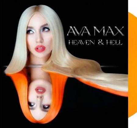AVA MAX : HEAVEN & HELL (TRANSPARENT ORANGE VINYL)
