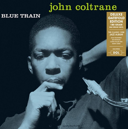 JOHN COLTRANE : BLUE TRAIN (180G/DELUXE GATEFOLD)