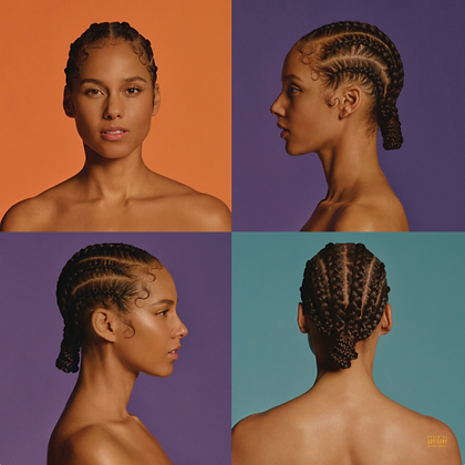 ALICIA KEYS : ALICIA (X) (2LP/150G/OPAQUE WHITE VINYL/DL INSERT)