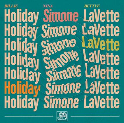 BILLIE HOLIDAY-NINA SIMONE-BETTYE LAVETTE : ORIGINAL GROOVES (VINYL)