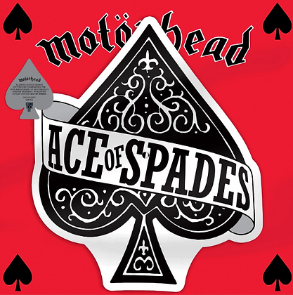 ACE OF SPADES / DIRTY LOVE (SHAPED PICTURE DISC) (RSD)