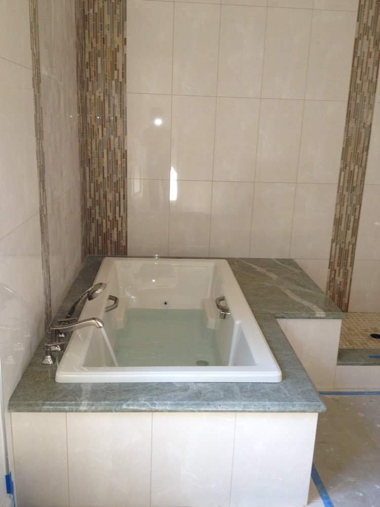 Jacuzzi tub install