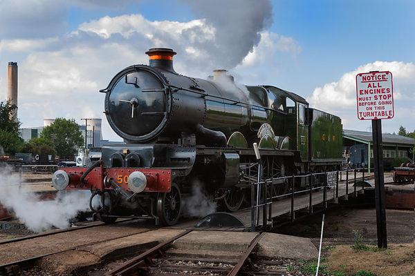 historical steam locomotive photography_