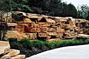 Outcroppings - Artisan Stone Products Springfield IL call 217-697-8433 or visit our beautifully landscaped outdoor showroom at 2475 Peerless Mine Road,  Springfield Illinois 62702.