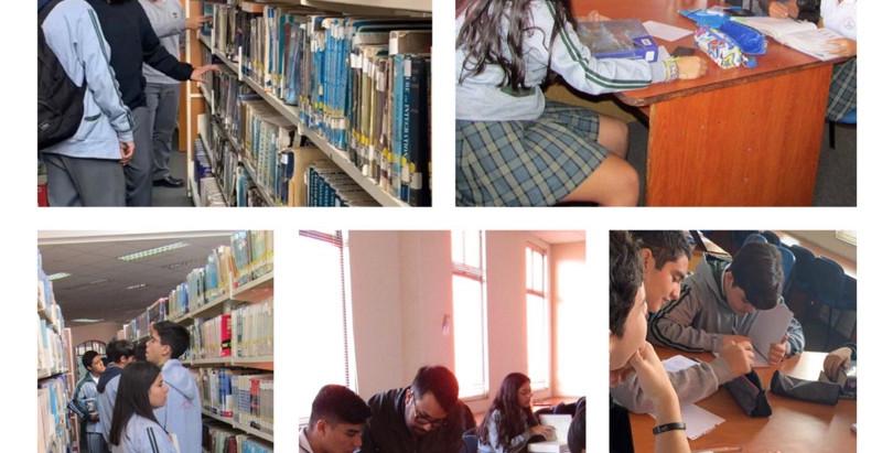 Plan matemático multiplica conocimientos, sumando la biblioteca de la UNAP a la formula.