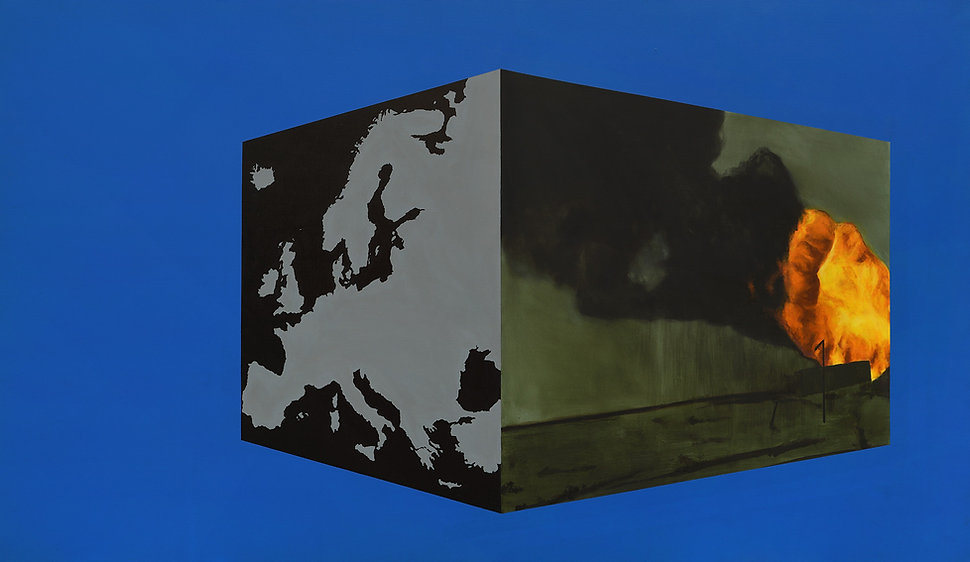 Dyndo Wiktor - Chmura 03 (Europa), 2016,