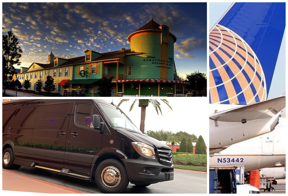 MCO Transportation To Disney's Saratoga Springs