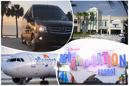 🇺🇸 ★★★★★ Professional Transportation From Sanford Airport SFB To Disney World.