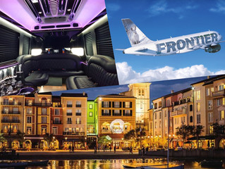 🇺🇸 ★★★★★ Luxury Transportation From MCO To Universal's Portofino Bay.