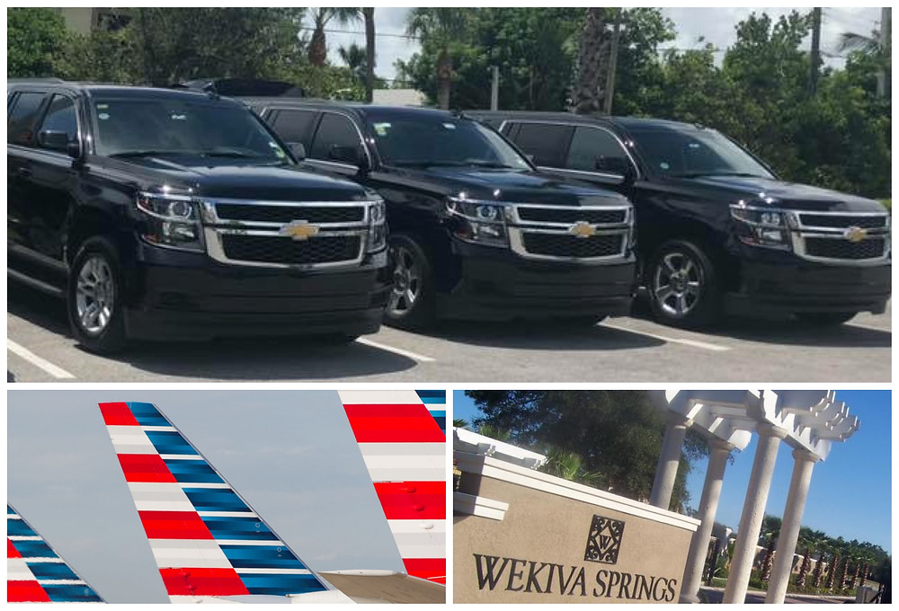 Orlando Airport Car Service From Wekiva Springs