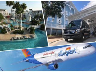 🇺🇸 ★★★★★ SFB Airport Transportation To Disney.
