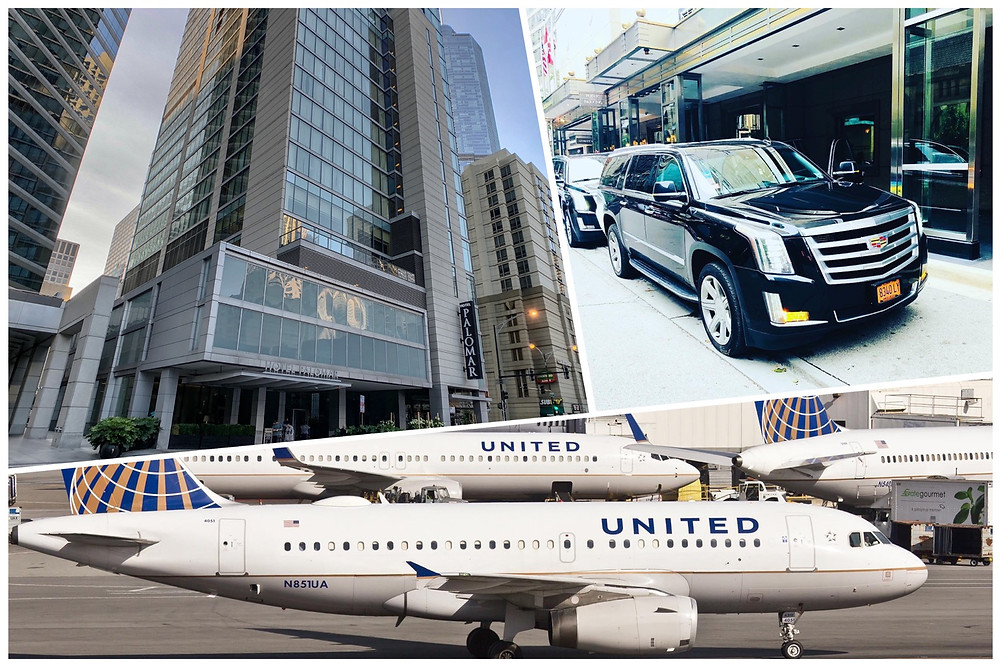 Luxury Car Service From O'Hare Airport To Kimpton Hotel Palomar
