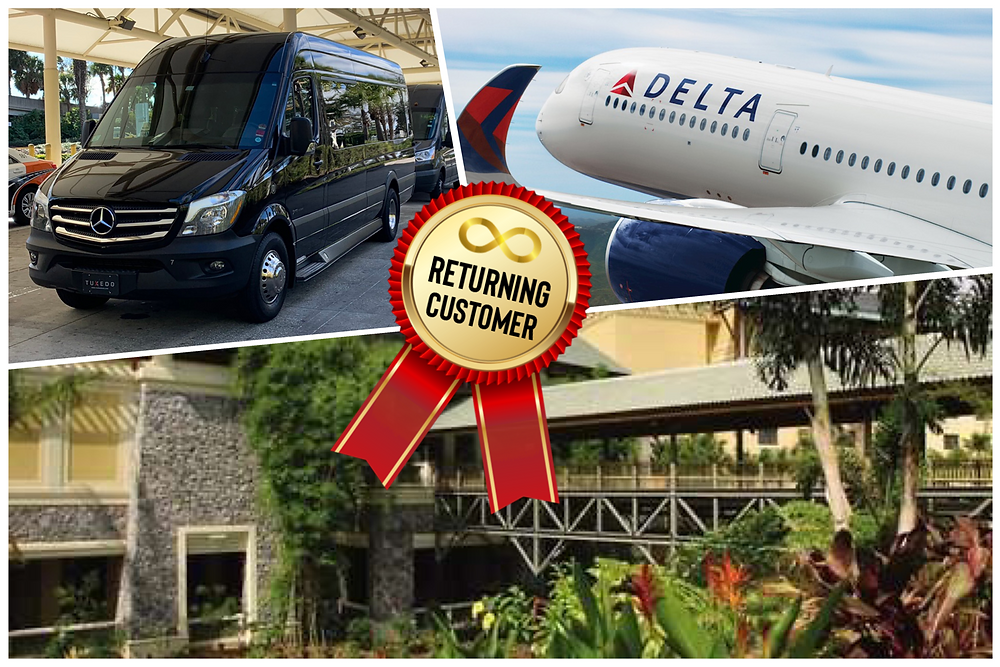 Car Service From Orlando Airport To Universal's Royal Pacific Resort