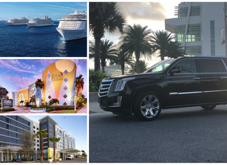 🇺🇸 ★★★★★ Car Service To Cocoa Beach And From Port Canaveral.