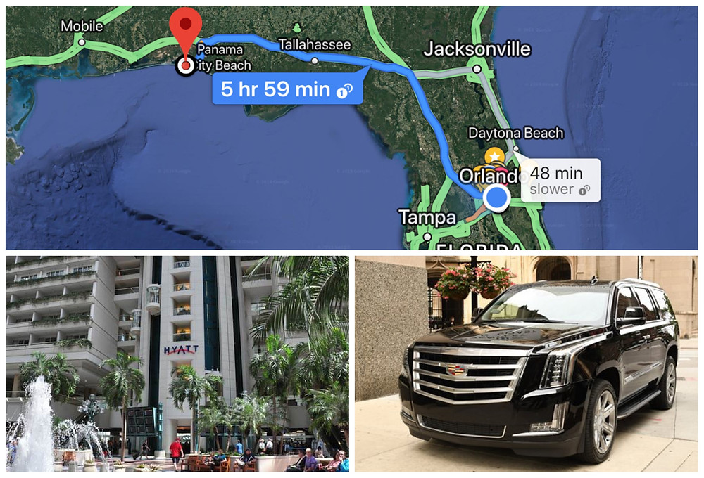 Transportation From Orlando Airport To Miramar Beach