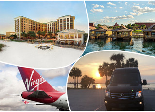 🇬🇧 ★★★★★ Luxury Car Service From Disney's Polynesian To Clearwater Beach.