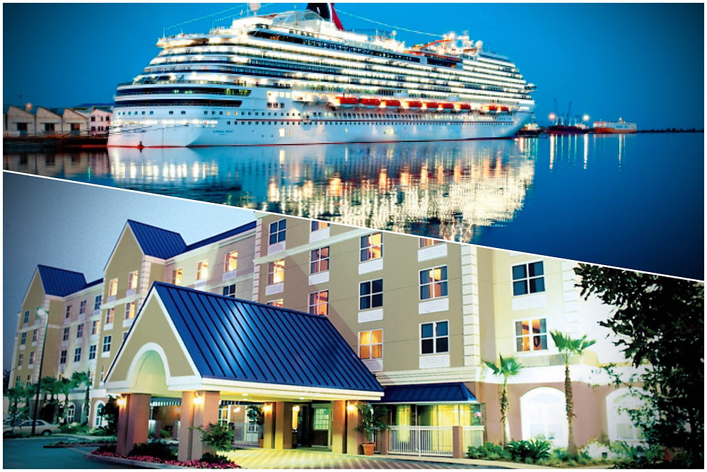 Shuttle, Taxi, Transportation from Fairfield Inn Orlando Airport to Port Canaveral