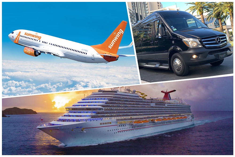 Airport Transportation From Carnival Cruise