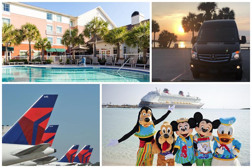 Orlando Transportation To Port Canaveral, Disney Dream Cruise