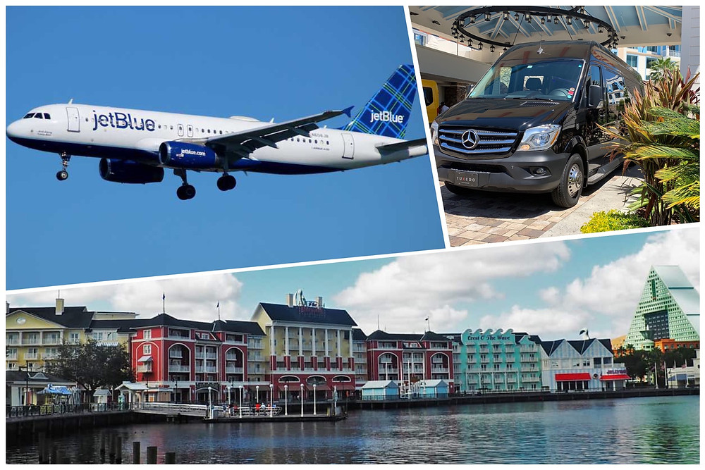 Luxury Airport Car Service From MCO To Disney's Boardwalk