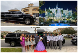 🇩🇴 ★★★★★ Orlando Quinceanera Limo Service To Castle Hotel, Autograph Collection.
