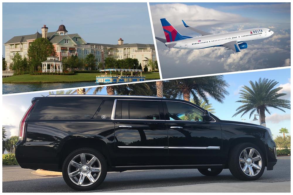 MCO Car Service To Saratoga Springs Resort