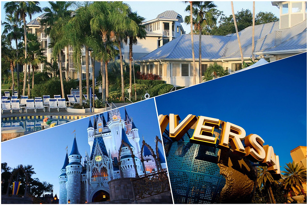 Transportation from Orlando Airport to Marriott's Cypress Harbour, Disney World, Universal Studios