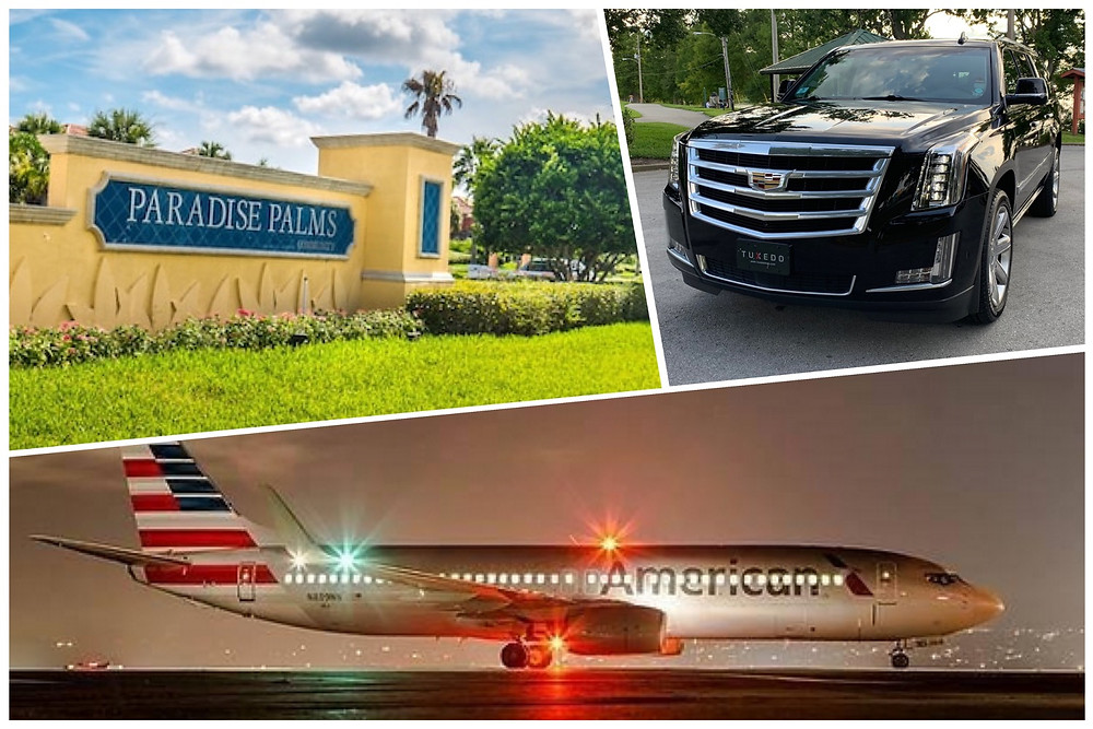 Orlando Airport Transportation from Paradise Palms Resort