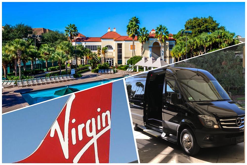 Orlando Limousine Service - Airport MCO - Sheraton Vistana Resort