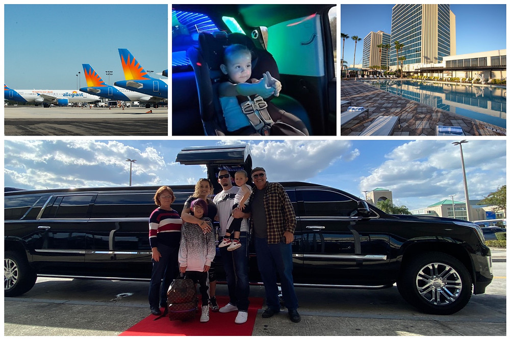 Limousine Service From Sanford Airport To Universal Studios
