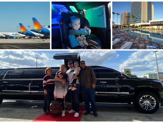 🇨🇦 ★★★★★ Limousine Service From Sanford Airport To Universal Studios.