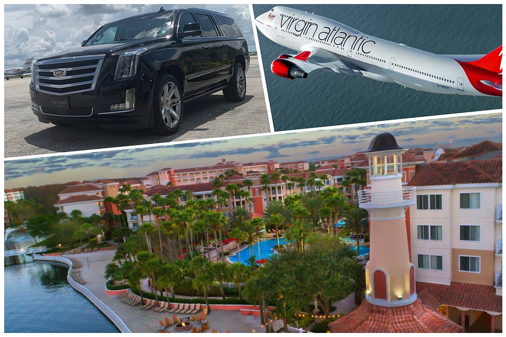 Black Car Service From MCO To Marriott's Grande Vista