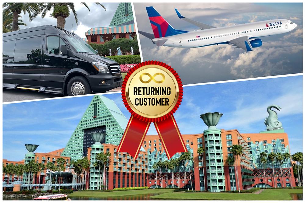 Transportation From Orlando Airport To Disney Dolphin Resort